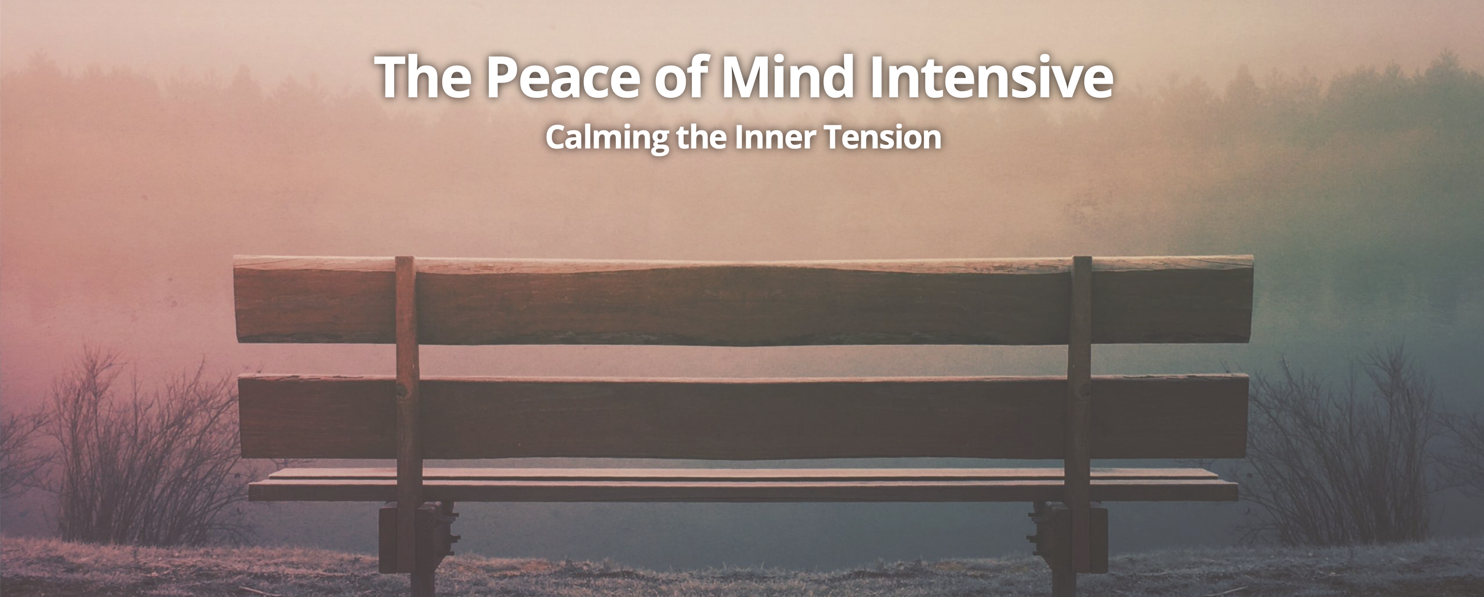 The Peace of Mind Intensive