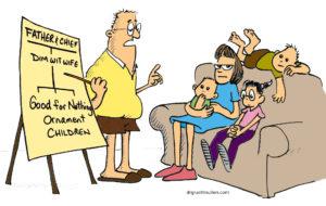 We teach shame to our children