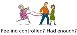 Tired of being controlled?