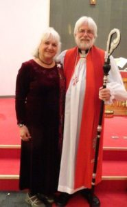 Bishop Parsons and wife Rita